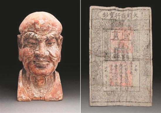 600多年前的明代木雕藏玄机 内藏稀有明朝银票