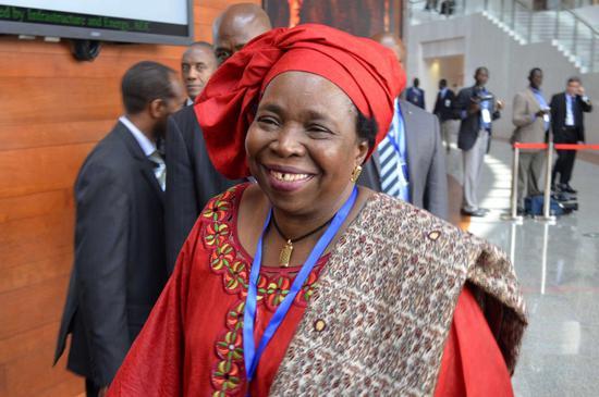 非洲联盟委员会主席德拉米尼·祖马