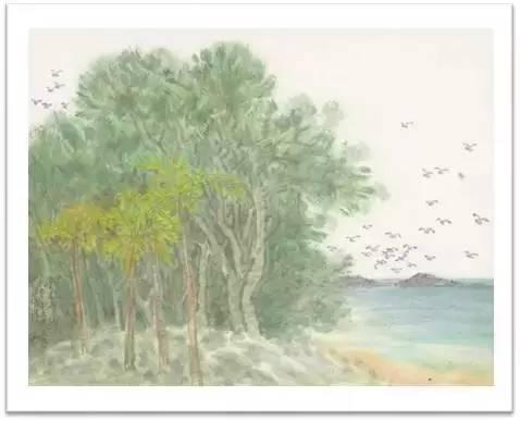 南方文交所艺术品交易中心上市藏品:《李翔山水》名家限量版画