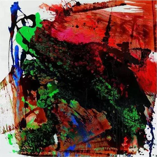 南方文交所艺术品交易中心上市藏品:张肇达《5012010》名家限量版画