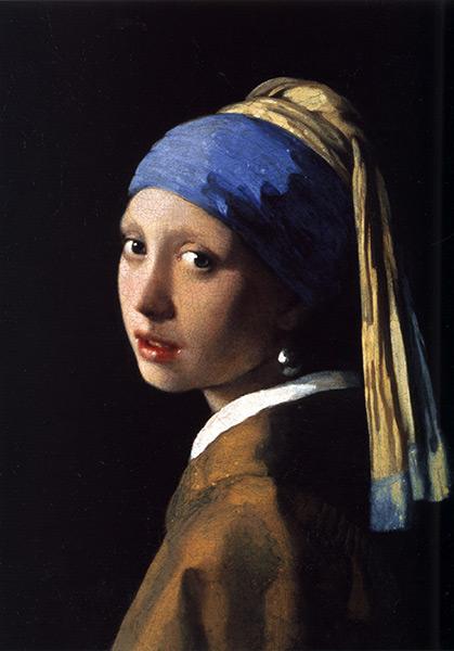 约翰内斯·维米尔 - 戴珍珠耳环的少女The Girl With The Pearl Earring
