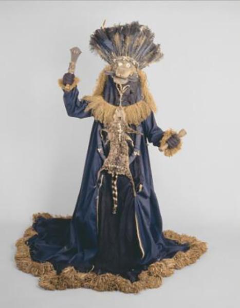 Basinjom Mask and Gown, 收藏于西雅图艺术博物馆
