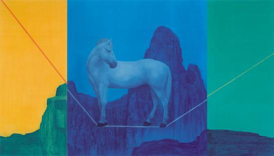 《如梦令》 徐累 2015年 绢本设色 263×460cm