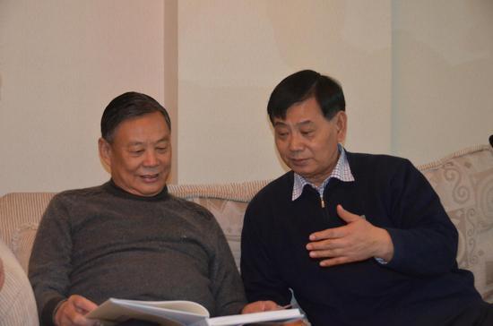 前中国国家主席胡锦涛侍卫长王政委助阵