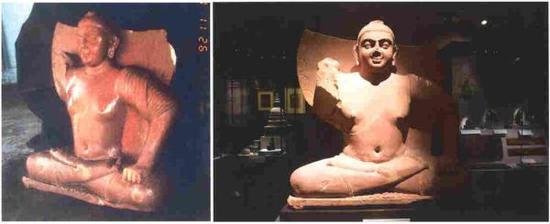 """""""坐佛#1"""",1999年被卖Wiener卖给新加坡亚洲文明博物馆"""