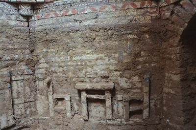 古墓内部结构古墓内部结构 武安文保所提供武安文保所提供