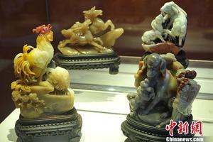 福州十二生肖寿山石雕吸眼球