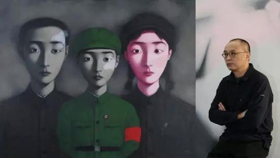 张晓刚和他的《大家庭》系列