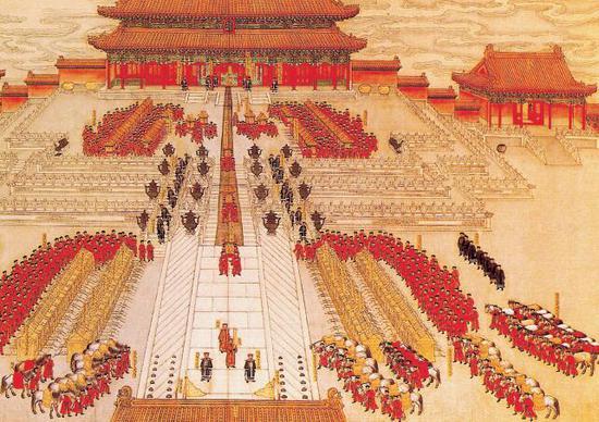 光绪皇帝大婚图