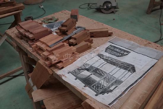 """从结构到造型的纽带,是工人或匠人的""""技"""":一个木工,将木头做成各种结构,然后将结构组合成造型,成为一个有功能的用具。这是具的层面。2"""
