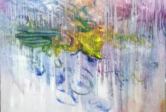 油画《三界-意境系列》之38,167cm×120cm