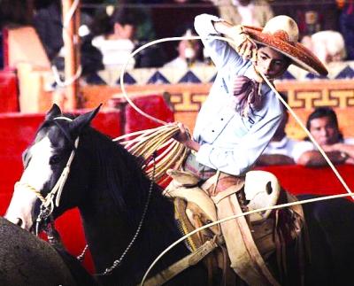 墨西哥传统骑术
