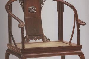 清雍正内务府造皇宫圈椅 外形文化讲究多