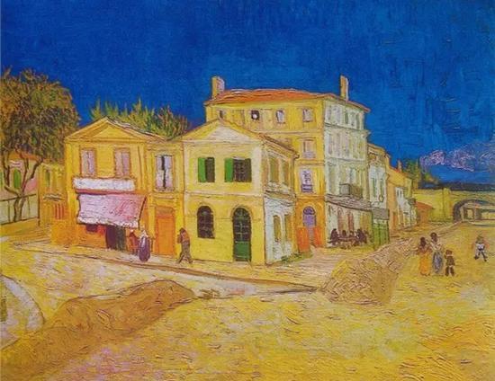 《黄房子》 1888年 梵高博物馆