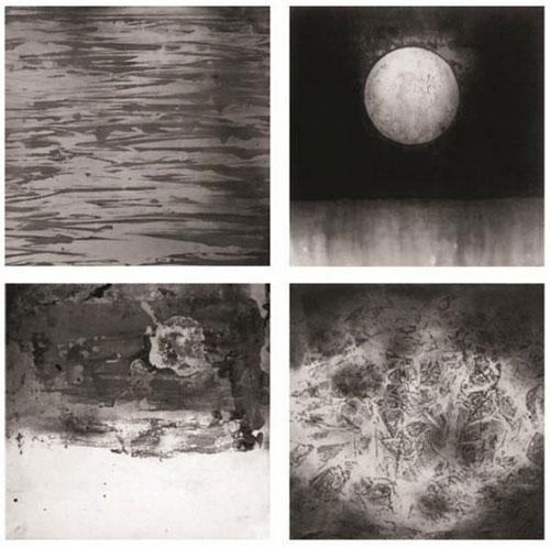 《意象·二十四节气组画之二》-尹鹏-32x2cmx4-2014年-纸本水墨