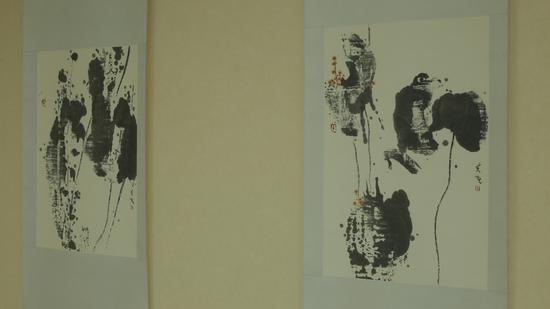艺术家张夫也参展作品