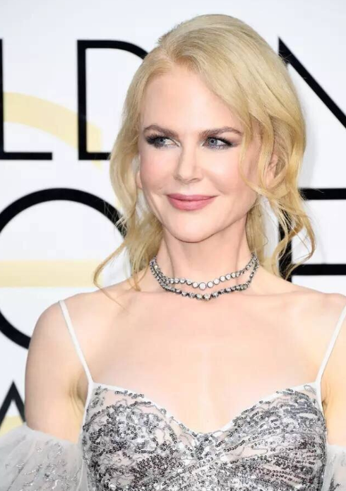 Nicole Kidman的钻石项链源自Fred Leighton