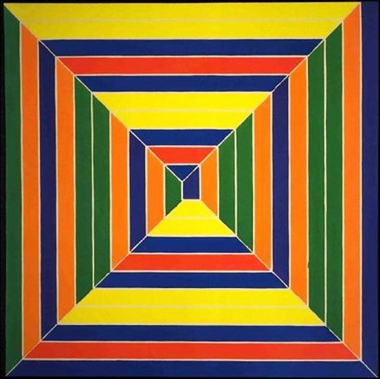 Frank Stella 《Color Maze》