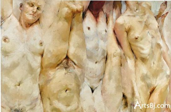珍妮·萨维尔,《转变》,1996-97。图片:Courtesy of Sotheby's.