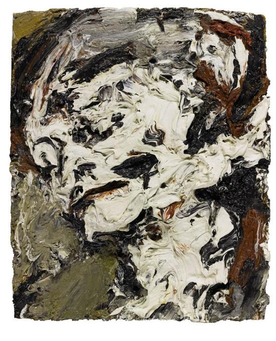 弗兰克·奥尔巴赫,《格尔达柏姆的头像》,1965