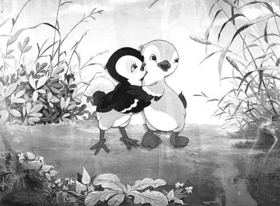 动画贺岁:中国卡通鸡喔喔叫