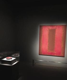 一个仅由两件红色作品构成的迷你展