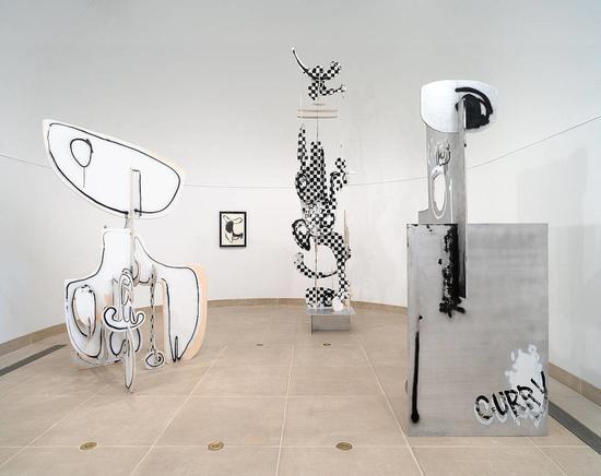 2009年洛杉矶哈默尔美术馆展出的阿龙·柯里作品