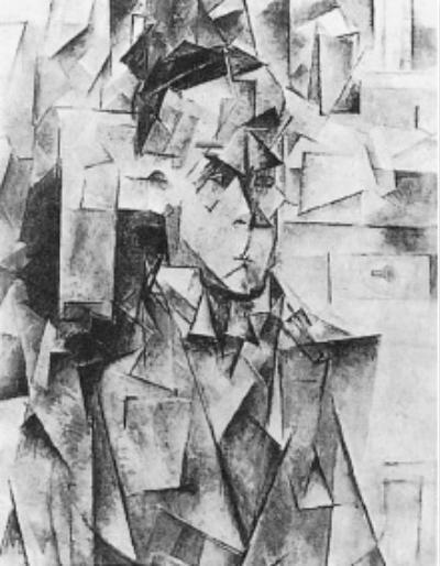 毕加索:《伍德肖像》