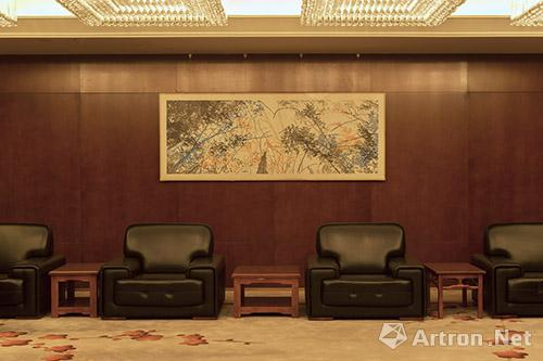 张广慧,清和月,套色木刻版画-2,2015年