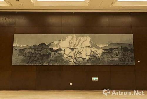 苏新平,风景2012-3号,布面油画,2012年