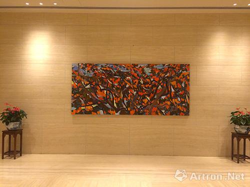 王克举,十月金秋,布面油画,2012年