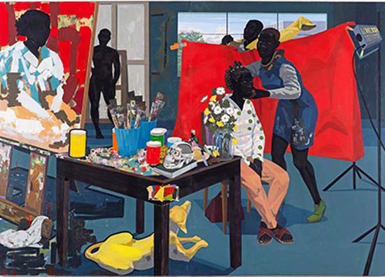 黑人艺术家凯瑞·詹姆斯·马歇尔作品