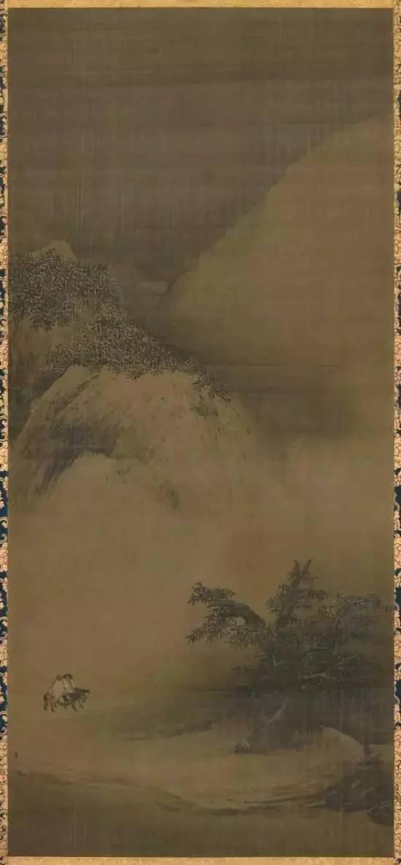 南宋 梁楷《雪景山水图》