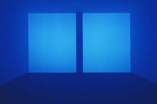 詹姆斯·特瑞尔《InstallationView of 67 68 69》局部。图片:致谢Pace Gallery