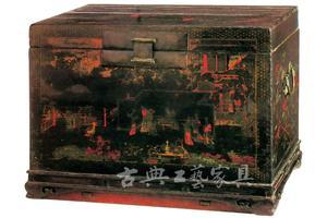 《东山报捷图》座箱:珍贵维扬木器