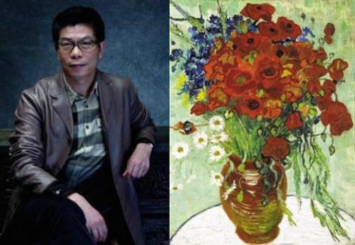 王中军买下梵高画作《雏菊与罂粟花》