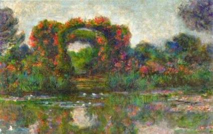 2015年,王健林以1.27亿人民币买下了莫奈佳作《睡莲池与玫瑰》