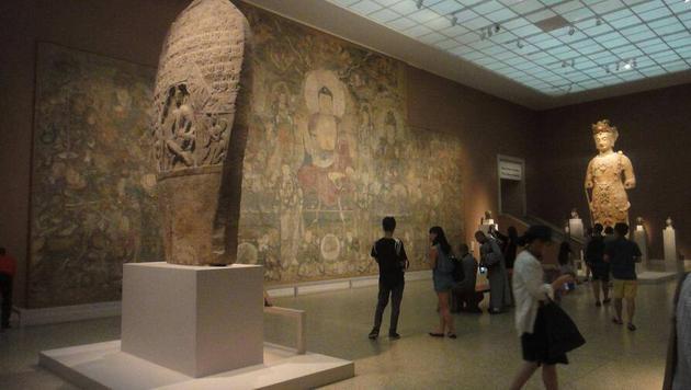 纽约大都会博物馆的佛教文物