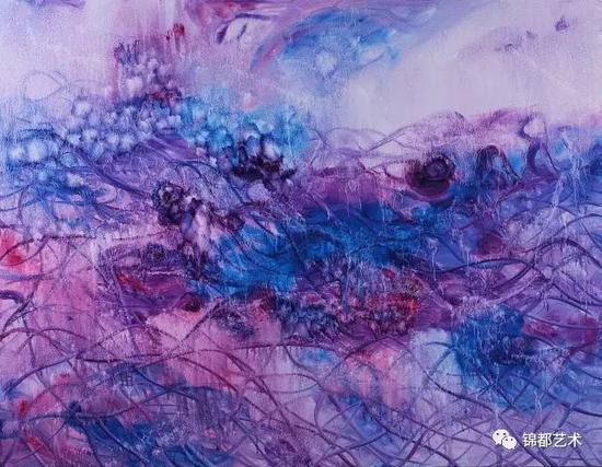 《三界》然境系列,油画,155cm×120.5cm,2016