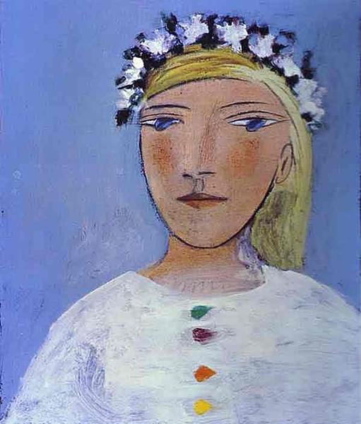 毕加索 Picasso - Marie-Therese Walter