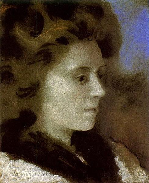 毕加索 Picasso - Portrait of a Woman (Marie-Therese Walter)