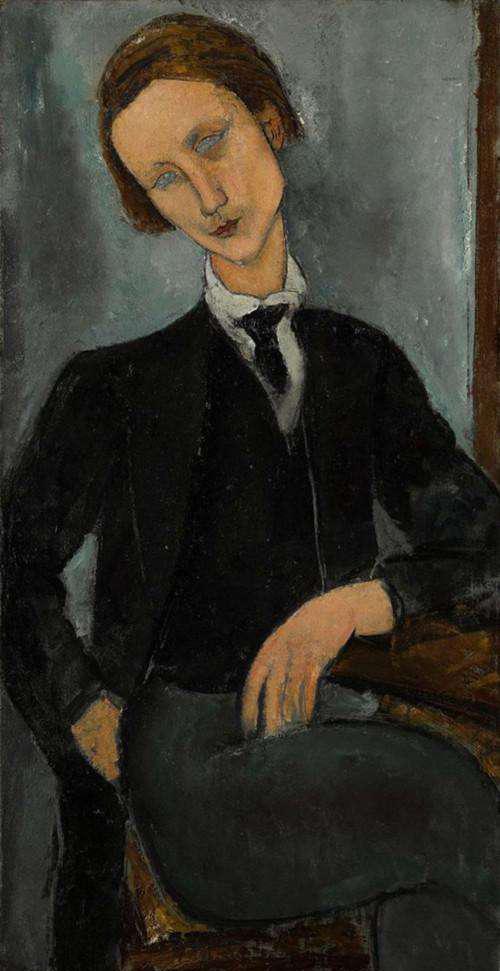 莫迪阿尼《巴拉诺夫斯基肖像》,成交价:1.6亿人民币
