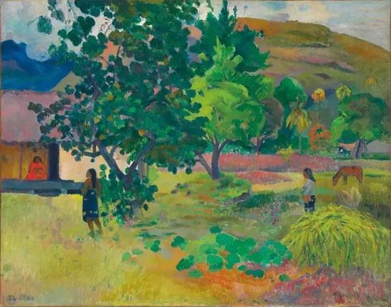 保罗·高更(1848 - 1903) 《屋子》 1892年作 成交价:英镑 20,325,000