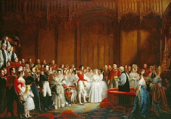 维多利亚女王婚礼