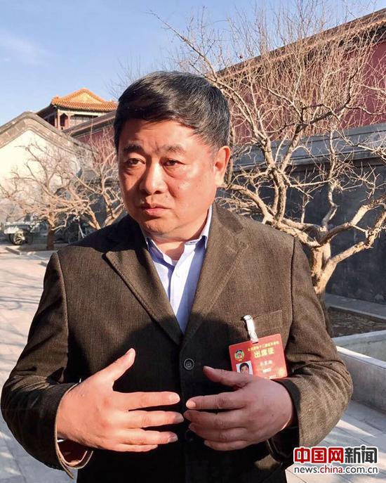 全国政协委员、北京故宫博物院院长单霁翔。中国网记者 吴闻达 摄
