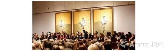 培根《弗洛伊德肖像画习作》三联画在纽约佳士得夜场拍出1.42亿美元