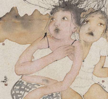 南方文交所艺术品交易中心挂牌藏品 刘庆和《亲爱的谁》系列限量版画