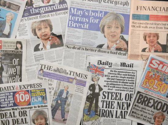 英国首相梅伊日前发表演说,强调脱欧的坚定立场与评估中的配套措施