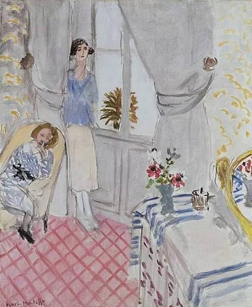 亨利·马蒂斯 Henri Matisse - The Boudoir