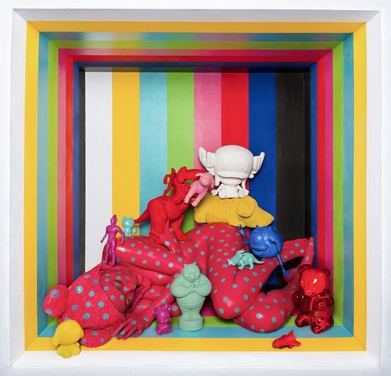 王建扬,范特西提克卡乐吧,收藏级无酸艺术纸、艺术微喷,75x75cm,2017,Edition of 1